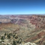 Blick nach Osten im Grand Canyon Nationalpark