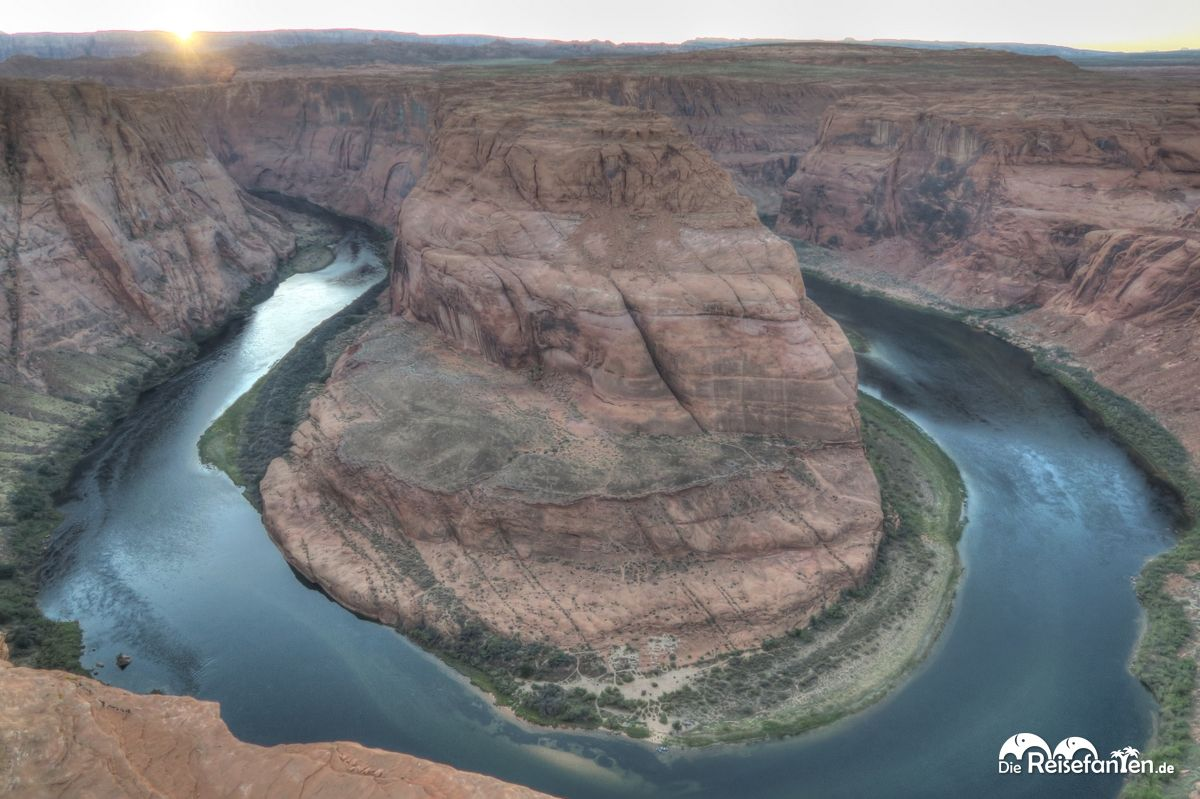 Der Horseshoe Bend in Arizona