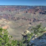 Die breite Schlucht des Grand Canyon Nationalparks