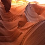 Imposante Strukturen im Lower Antelope Canyon