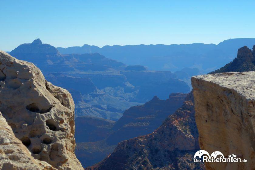 Unglaubliche Weite im Grand Canyon Nationalpark