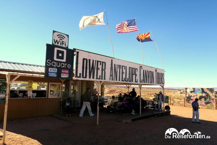 Der Lower Canyon kann man im Rahmen einer Tour besichtigen
