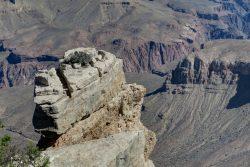 Unzugängliche Ecken im Grand Canyon Nationalpark