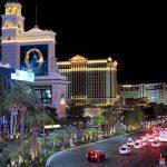 Aus der Ferne sieht das Bellagio in Las Vegas schon beeindruckend aus