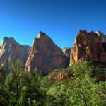 Court of the Patriarchs im Zion Nationalpark