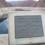 Gedenktafel am Hoover Dam