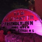 Nicht angeschlossene Leuchtreklame im Neon Museum in Las Vegas