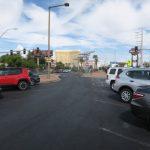 Parkplatz vor dem Las Vegas Sign