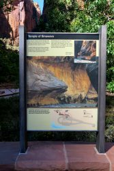 Temple of Sinawava im Zion Nationalpark