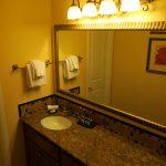Waschbereich im Desert Rose Resort in Las Vegas