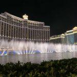 Wasserspiele vor dem Bellagio in Las Vegas