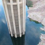Wenig Wasser im Lake Mead am Hoover Dam