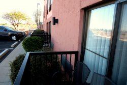 Balkon im Erdgeschoss des Best Western View Of Lake Powell Hotel