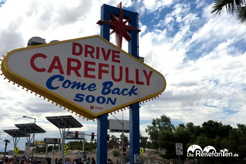Das Las Vegas Sign hat zwei Seiten