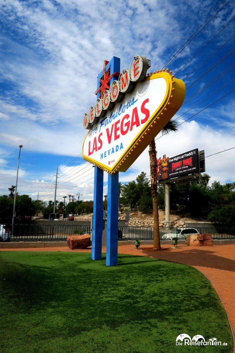 Es muss nicht immer eine Frontalaufnahme des Las Vegas Signs sein