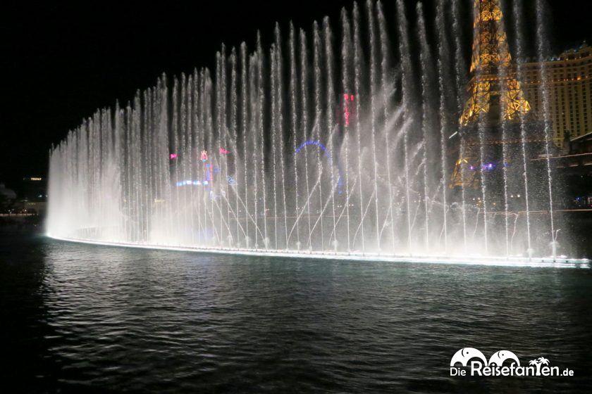 Fontänenspiel vor dem Bellagio in Las Vegas