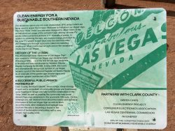Informationen zum Las Vegas Sign