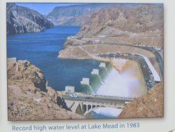 1983 war die Hochwasserentlastungsanlage des Hoover Dam in Betrieb