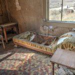 Alte Matratze in der Geisterstadt Bodie