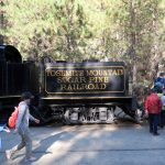 Ausgangspunkt der Yosemite Mountain Sugar Pine Railroad