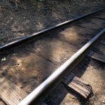 Die Gleise der Yosemite Mountain Sugar Pine Railroad