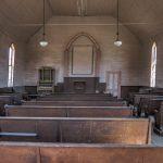 Die Kirche in der Geisterstadt Bodie