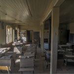 Ein Klassenzimmer in der Geisterstadt Bodie