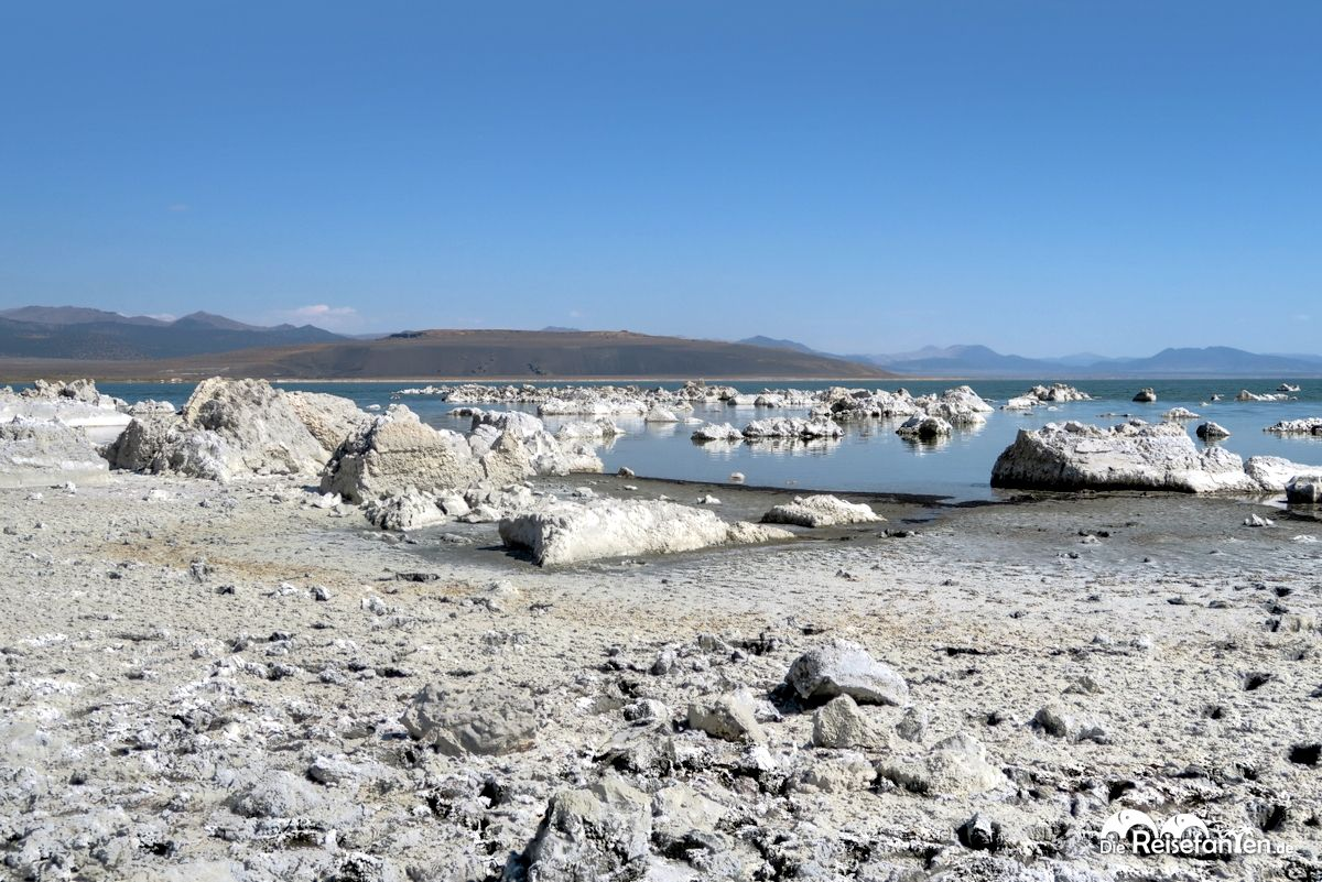 Mondlandschaft am Mono Lake