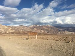 Der Artist Drive in Death Valley