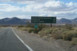 Fahrt zum Death Valley