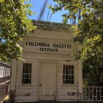 Columbia Gazette Office im Columbia State Historic Park