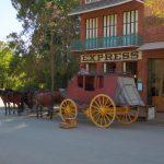 Hitorische Kutsche im Columbia State Historic Park