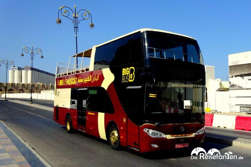 Mit dem Big Bus unterwegs in Muscat