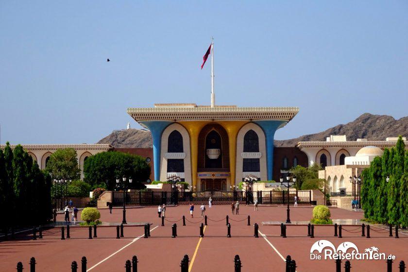 Al Alam Palast in Muscat