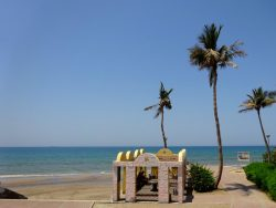 Al Qurum Beach in Muscat