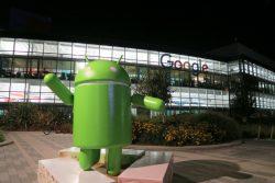 Android Garden auf dem Googleplex im Silicon Valley