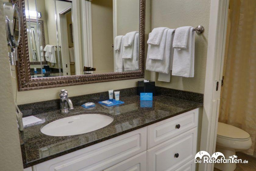 Das Badezimmer im Hyatt House San Ramon