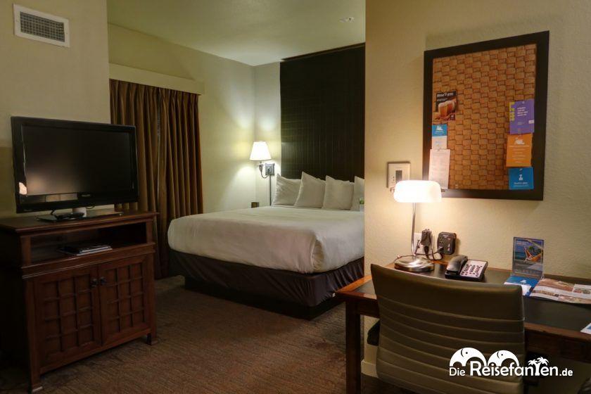 Das geräumige Zimmer im Hyatt House San Ramon