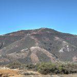 Blick auf den Hawk Hill gegenüber der Stadt San Francisco