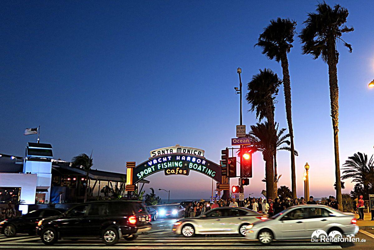 Blick auf den Santa Monica Pier