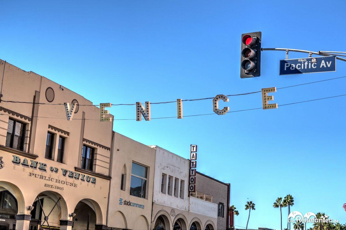 Das große Schild von Venice Beach