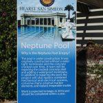 Der Neptunpool war während unseres Besuchs im Hearst Castle leider geschlossen