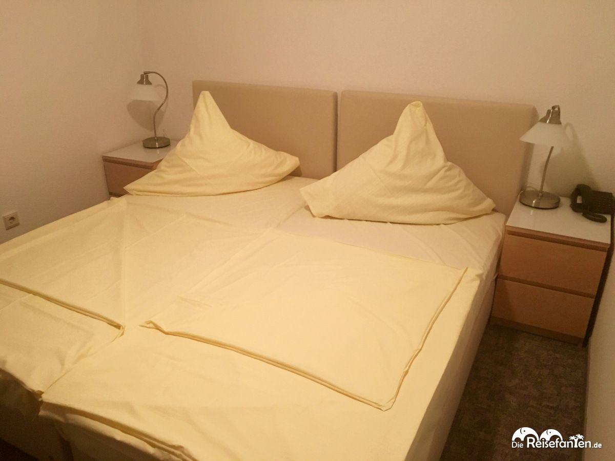 Doppelzimmer im Hotel Central in Erlangen