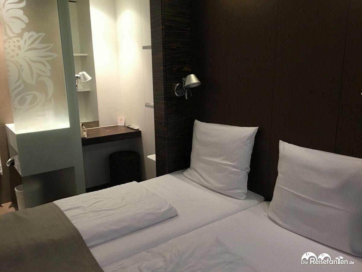 Doppelzimmer im Premiere Classe Hotel Düsseldorf City