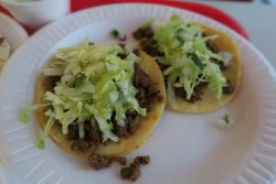 Soft Tacos bei Tacos El Gavilan in Hollywood