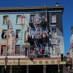 Wohnhaus in Chinatown in San Francisco