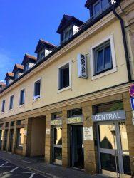 Aussenansicht vom Hotel Central in Erlangen
