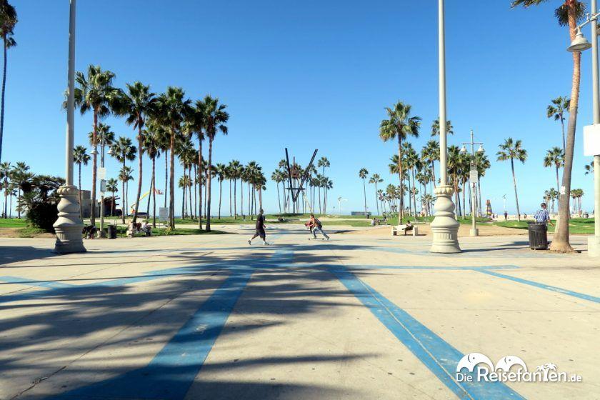 Blick auf den Venice Beach