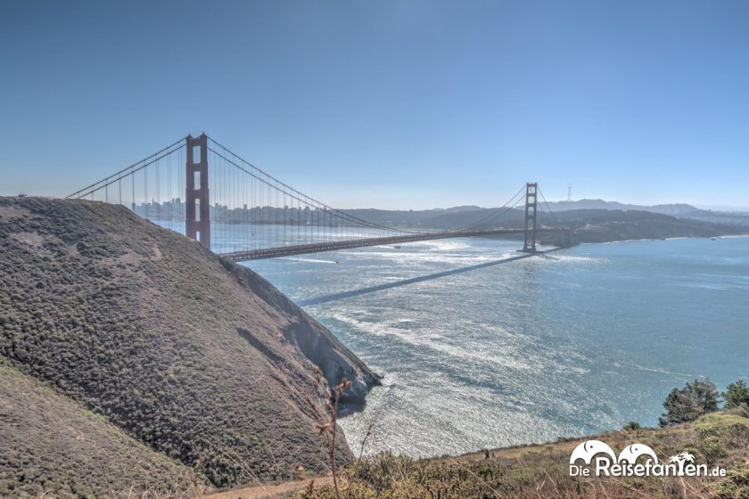 Blick vom Golden Gate Viewpoint