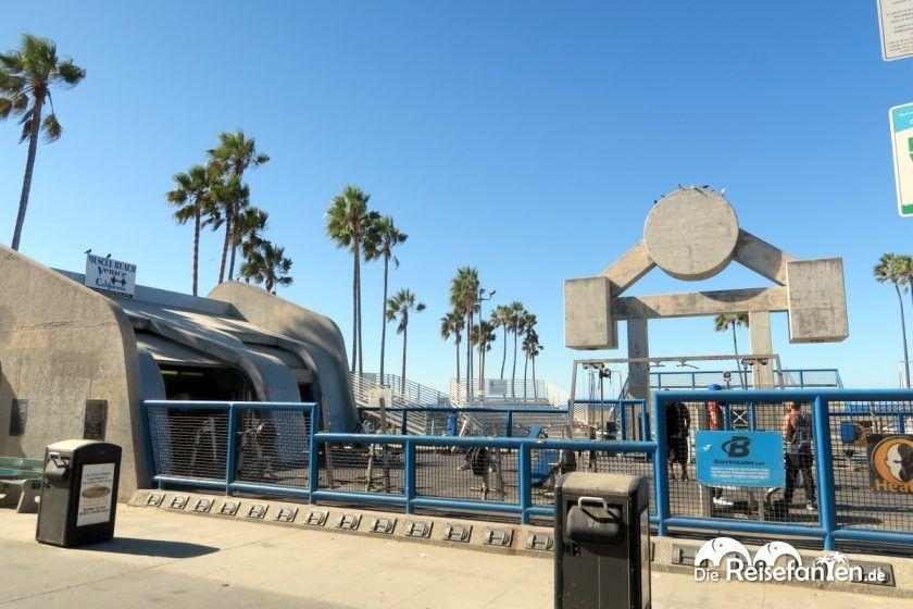 Der Muscle Beach am Venice Beach hat schon so manchen Körper gestählt